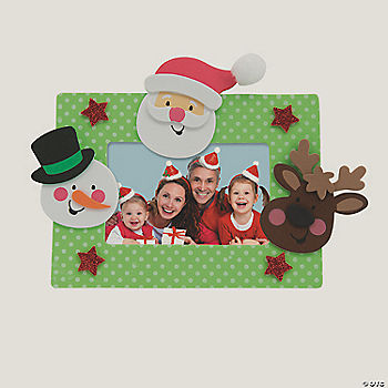 Christmas character picture frame magnet craft kit for K decorations trading
