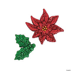 Holiday Glitter Shapes