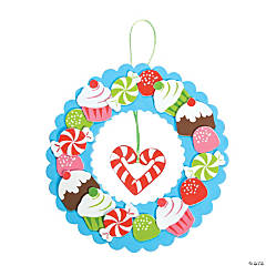 Holiday Sweet Treat Wreath Craft Kit