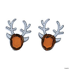 Reindeer Gem Earrings