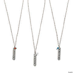 Hope, Faith, Love Necklaces