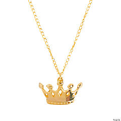 Gold Crown Necklaces