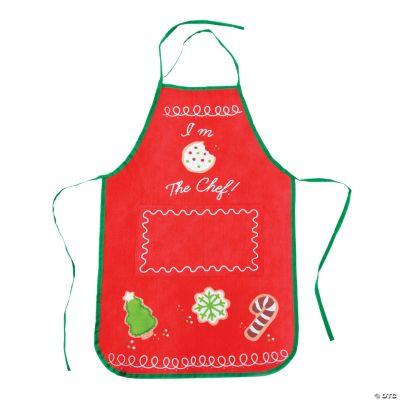 Child Holiday Baking Apron