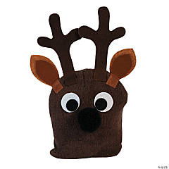 Reindeer Stocking Hat Craft Kit