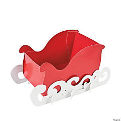 Santa's Sleigh Snack Caddy