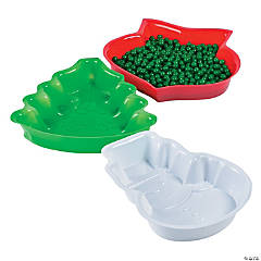 Christmas Shaped Serving Trays