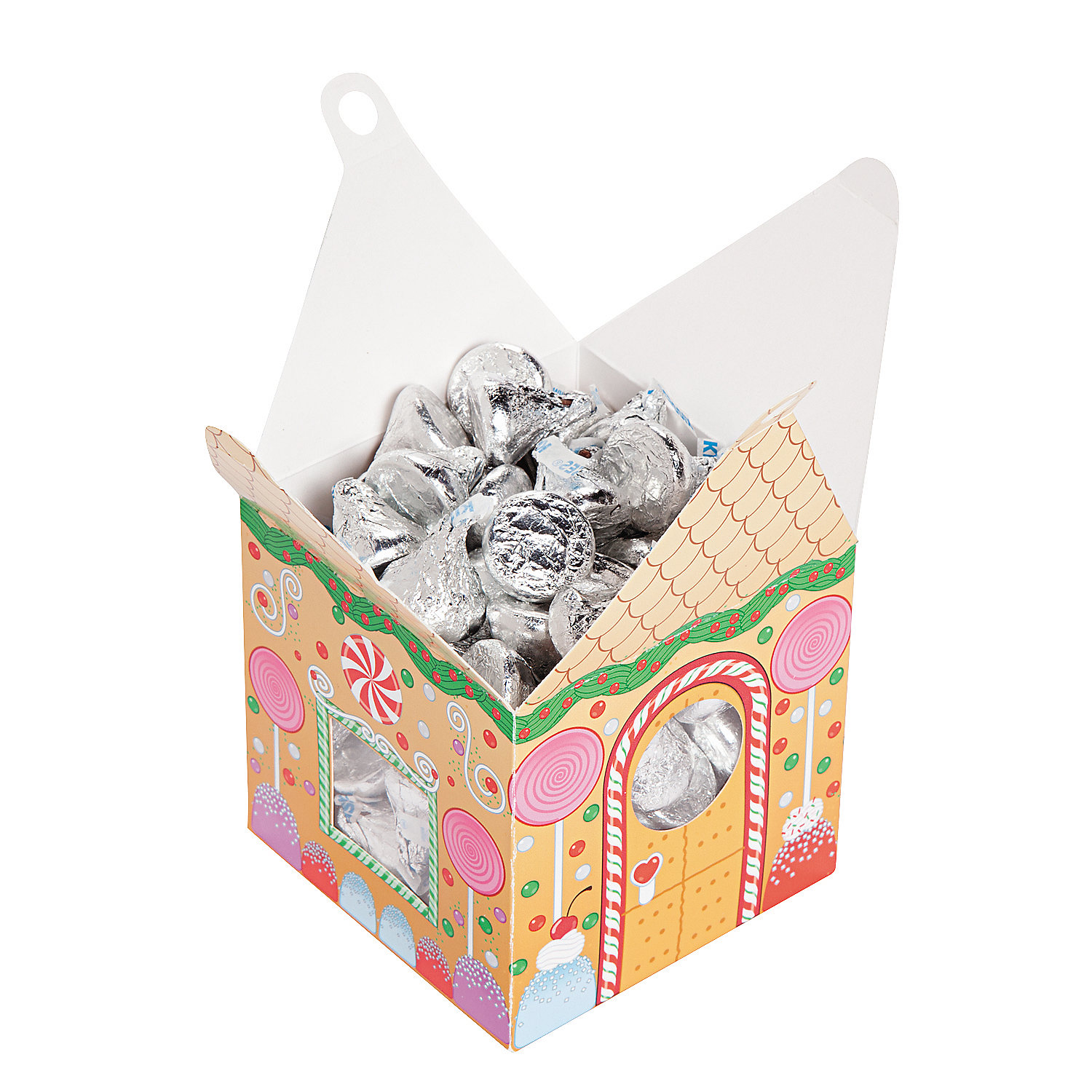 Gingerbread House Favor Boxes - Oriental Trading - Discontinued