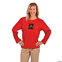 Plus Size Cardinal Shirt For Women