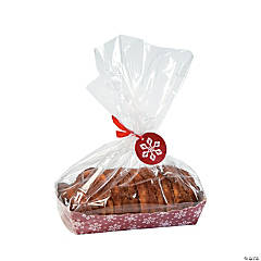 Christmas Loaf Boxes with Bag & Tag