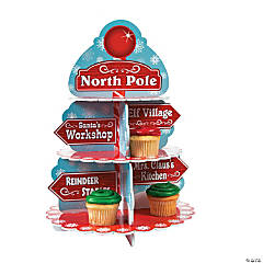 North Pole Cupcake Holder