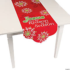 """Jesus Is the Reason"" Table Runner"