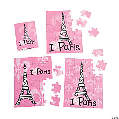 Perfectly Paris Mini Puzzles