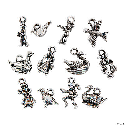 12 Days of Christmas Charms