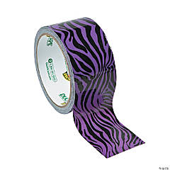 Purple Zebra Print Duck Tape® Duct Tape