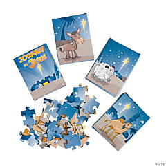 """Journey To Jesus"" Mini Puzzles"