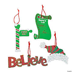 Magic Color Scratch All About Santa Ornaments