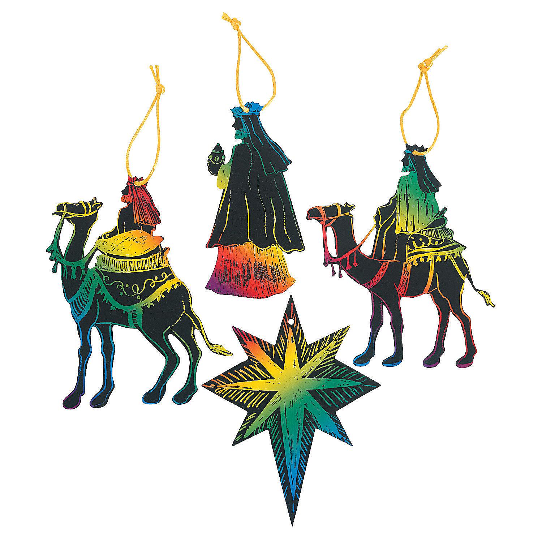 Magic color scratch 3 wise men magic scratch crafts for for Three wise men craft