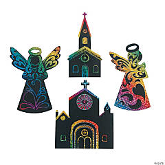 Magic Color Scratch Angels & Churches
