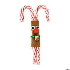 Double Candy Cane Reindeer Craft Kit