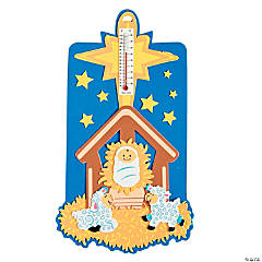 Nativity Scene Thermometer Christmas Craft Kit
