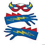Superhero Mask & Gloves Set For Boys
