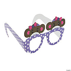 Miss Sock Monkey Glasses