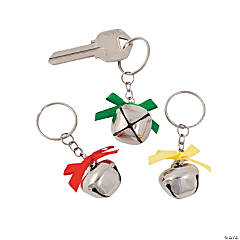 Jingle Bell Key Chains