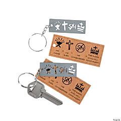 """Testify"" Key Chains"