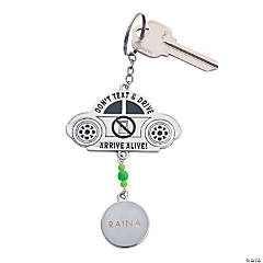 Personalized Texting Keychain