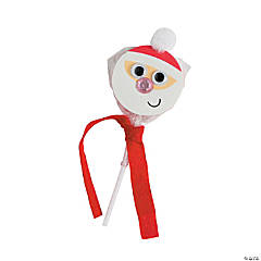 Santa Swirl Pop Craft Kit