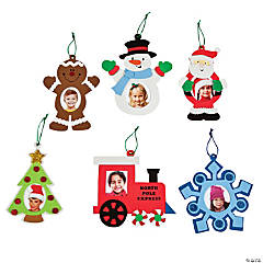 Christmas Picture Frame Ornament Craft Kit