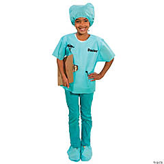 Blue Scrubs Doctor Costume