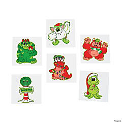 Christmas Monster Tattoos