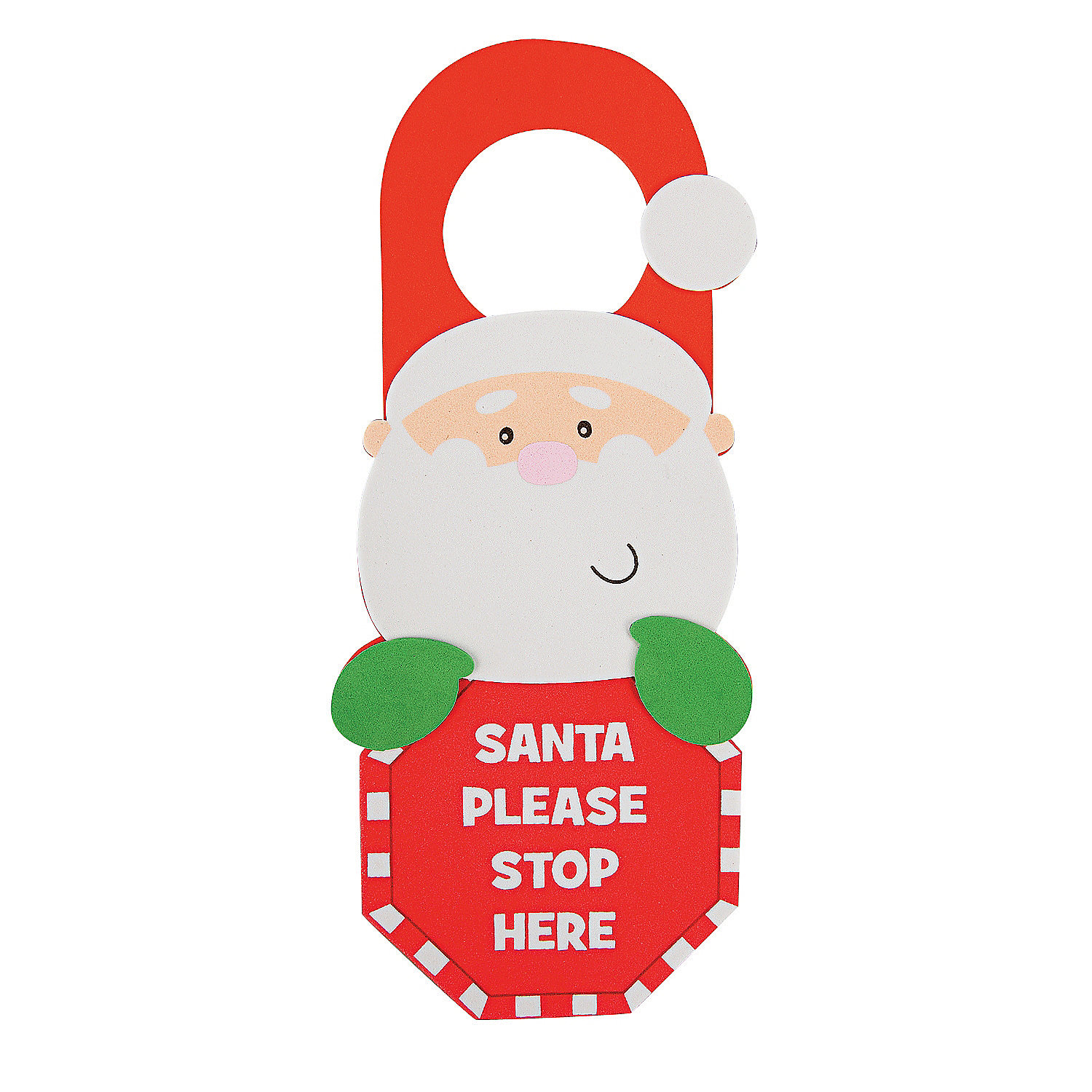 Stocking Door Hanger Craft Kit