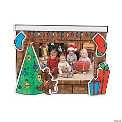Color Your Own Christmas Picture Frames