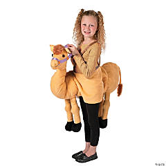 Plush Camel Costume