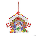 2013/14 Gingerbread House Picture Frame Christmas Ornament Craft Kit