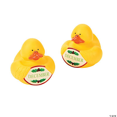 """December"" Rubber Duckies"