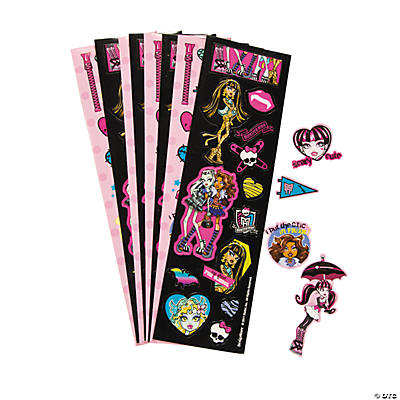 Monster High™ Sticker Strips