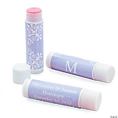Lavender Monogram Lip Covers