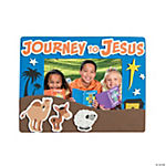 """Journey To Jesus"" Picture Frame Magnet Craft Kit"