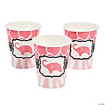 Wild Safari Pink Baby Shower Cups