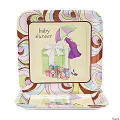 Parenthood Square Dinner Plates