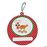 Thumbprint Reindeer Christmas Ornament Craft Kit