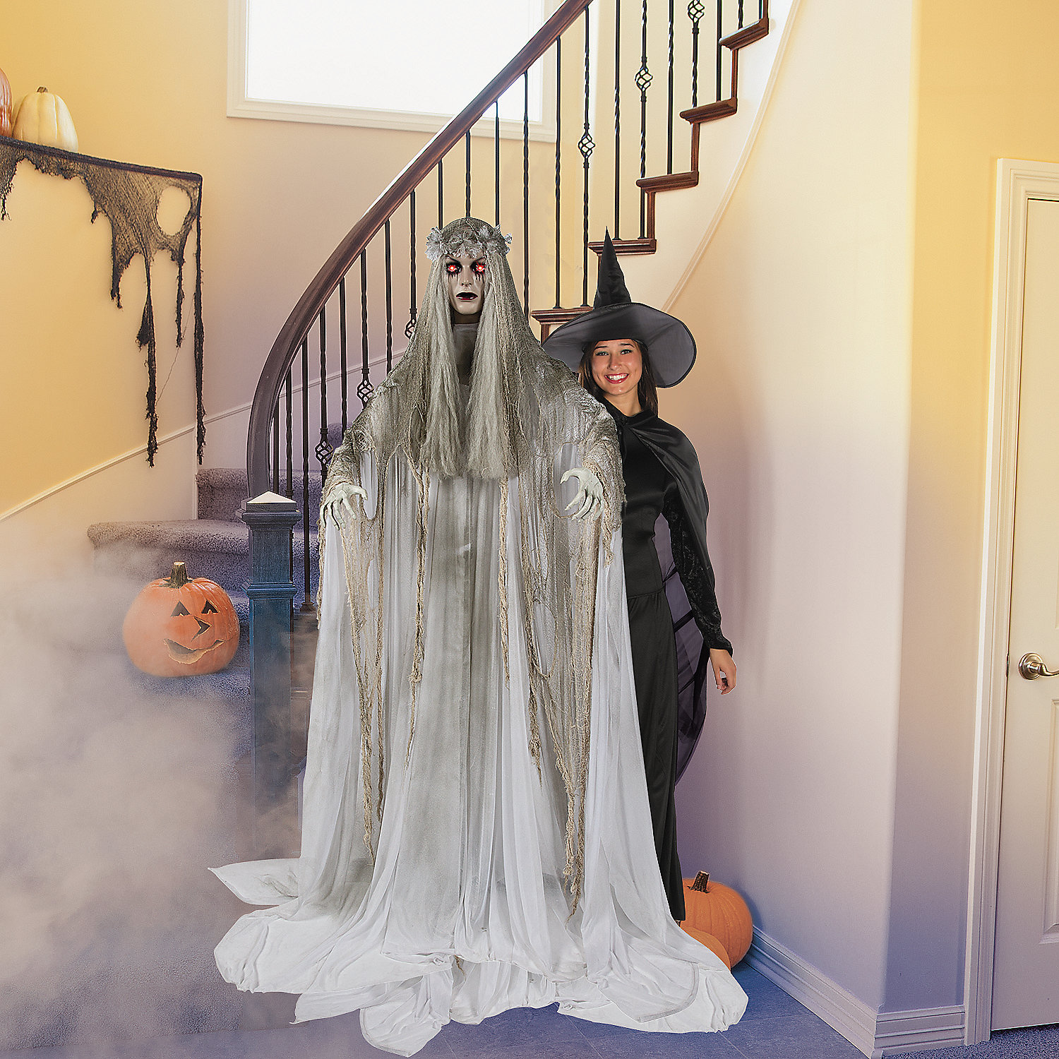 Standing Ghost Girl, Scary Halloween Decorations