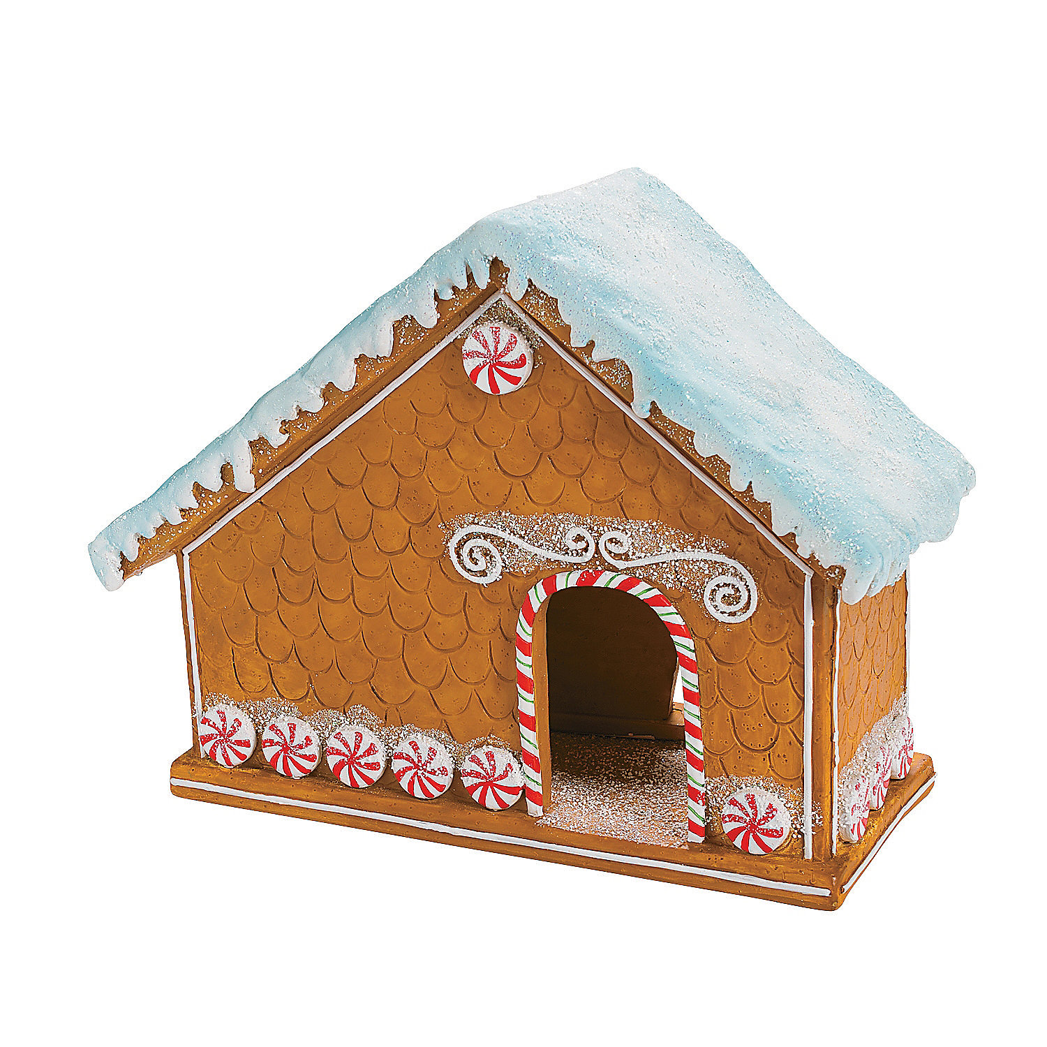 Gingerbread Nativity Set Oriental Trading Discontinued