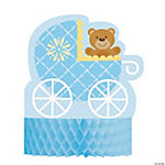Teddy Baby Blue Centerpiece