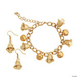 Golden Bells Bracelet & Earrings