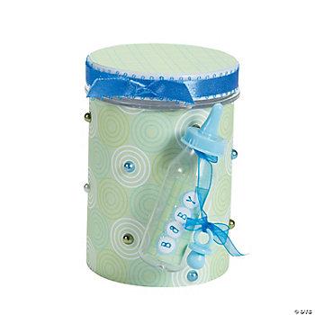 baby shower favor jar idea oriental trading