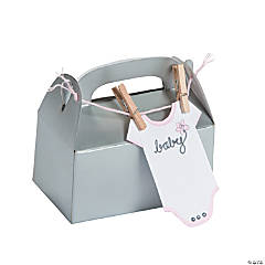 Baby Onesie Treat Box Idea